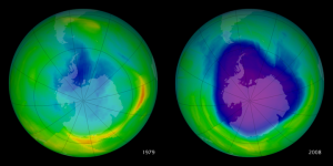 Ozone Layer from 1979-2008 from NASA